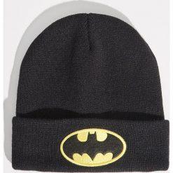 Czapka z naszywką Batman - Czarny. Czarne czapki i kapelusze damskie Sinsay. Za 19.99 zł.