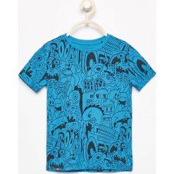 T-shirt z nadrukiem - Niebieski. Niebieskie t-shirty dla chłopców Reserved, z nadrukiem. Za 49.99 zł.