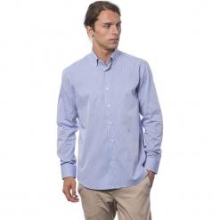 Koszula w kolorze chabrowym. Niebieskie koszule męskie Roberto Cavalli, Trussardi, w paski, button down. W wyprzedaży za 212.95 zł.