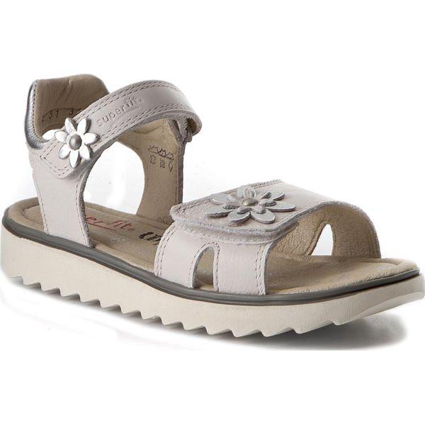 Sandały SUPERFIT - 0-00212-51 D Weiss Kombi - Sandały dziewczęce ... 0e974970cb