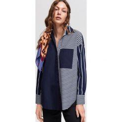 Bawełnina koszula w pasy - Granatowy. Koszule damskie marki SOLOGNAC. W wyprzedaży za 49.99 zł.