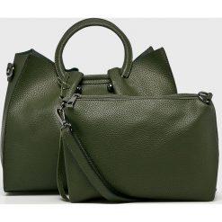 Answear - Torebka. Szare torby na ramię damskie ANSWEAR. Za 149.90 zł.