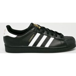 Adidas Originals - Buty Superstar Foundation. Czarne buty sportowe męskie adidas Originals, z gumy. Za 349.90 zł.