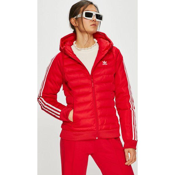 5f776d091d1bb adidas Originals - Kurtka - Czerwone kurtki damskie marki adidas ...
