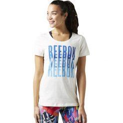 Reebok Koszulka damska Echo Scoop Chalk biała r. XS (BK6649). T-shirty damskie Reebok. Za 78.36 zł.