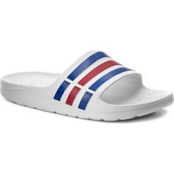 Klapki adidas - Duramo Slide U43664 Wht/Trublu/Red. Klapki damskie marki Birkenstock. Za 89.00 zł.