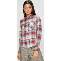 Pepe Jeans - Koszula Rubi. Szare koszule damskie Pepe Jeans, z jeansu, z długim rękawem. W wyprzedaży za 199.90 zł.