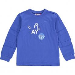 """Koszulka """"Thomas 703"""" w kolorze niebieskim. Zielone t-shirty dla chłopców marki Lego Wear Fashion, z bawełny, z długim rękawem. W wyprzedaży za 49.95 zł."""