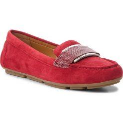 Mokasyny CALVIN KLEIN - Lorella E7473 Red Rock. Czerwone mokasyny damskie Calvin Klein, ze skóry. Za 569.00 zł.