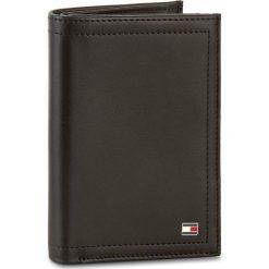 Duży Portfel Męski TOMMY HILFIGER - Harry N/S Wallet W/ Coin Pocket AM0AM01260 002. Czarne portfele męskie Tommy Hilfiger, ze skóry. Za 299.00 zł.