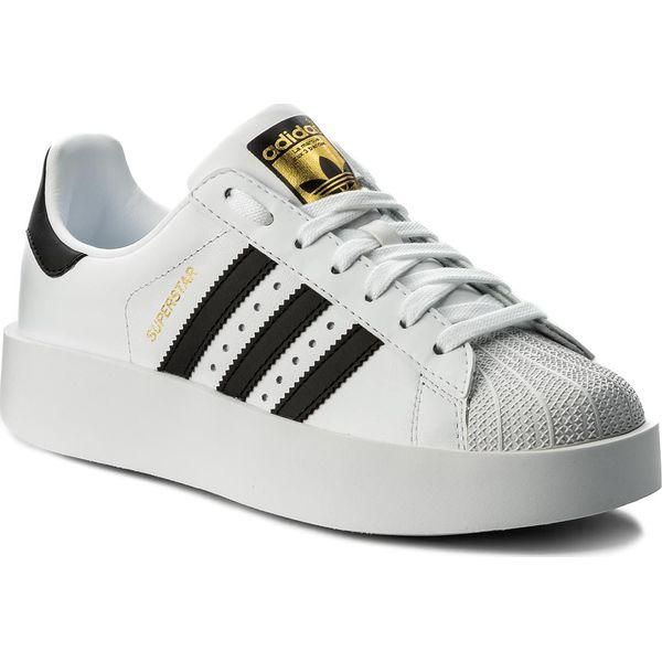 5771b0d1af072 Buty adidas - Superstar Bold W BA7666 Ftwwht/Cblack/Goldmt - Półbuty ...