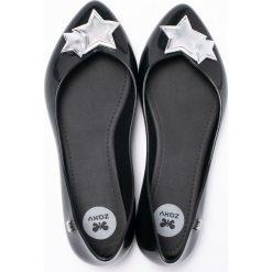 Zaxy - Baleriny. Czarne baleriny damskie Zaxy, z gumy. W wyprzedaży za 119.90 zł.