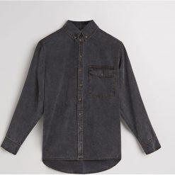 Denimowa koszula z lyocellu - Czarny. Czarne koszule damskie Reserved, z lyocellu. Za 259.99 zł.