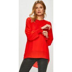 Only - Bluzka Mist. Czerwone bluzki damskie Only, z poliesteru, casualowe, z okrągłym kołnierzem. Za 169.90 zł.