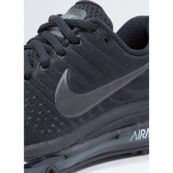 Nike Performance AIR MAX 2017 BG Obuwie do biegania treningowe black. Buty sportowe chłopięce Nike Performance, z materiału. Za 609.00 zł.
