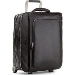 Mała Materiałowa Walizka PIQUADRO - BV2960MO N. Czarne walizki damskie Piquadro, z materiału. W wyprzedaży za 2,309.00 zł.