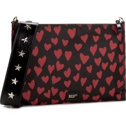 Torebka RED VALENTINO - NQ2B0717 St. Cuori C1N. Czarne torebki do ręki damskie Red Valentino, z materiału. W wyprzedaży za 709.00 zł.