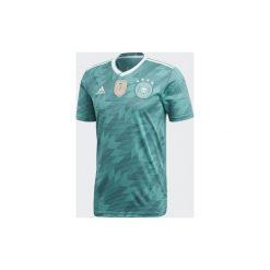 Koszulka krótki rękaw do piłki nożnej Niemcy 2018. Zielone t-shirty damskie Adidas. Za 239.99 zł.