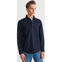 Jeansowa koszula - Granatowy. Koszule męskie marki Giacomo Conti. W wyprzedaży za 99.99 zł.