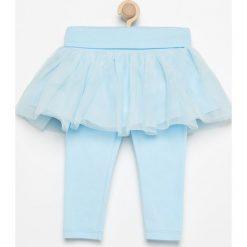 Legginsy z tiulową spódniczką - Niebieski. Legginsy dla dziewczynek marki OROKS. Za 29.99 zł.