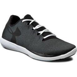 Buty UNDER ARMOUR - Ua W Street Precisionlo Rlxd 1285419-001 Blk/Wht/Blk. Czarne obuwie sportowe damskie Under Armour, z gumy. W wyprzedaży za 229.00 zł.