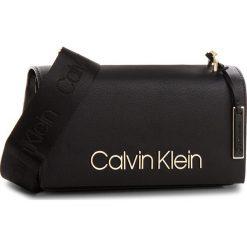 Torebka CALVIN KLEIN - Ck Candy Shoulder K60K604303  001. Czarne listonoszki damskie Calvin Klein, ze skóry ekologicznej. Za 649.00 zł.