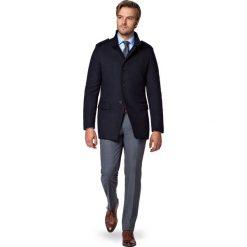 Kurtka Granatowa Cyprios. Czarne kurtki męskie LANCERTO, na zimę, z bawełny, eleganckie. W wyprzedaży za 499.90 zł.