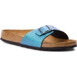 Klapki BIRKENSTOCK - Madrid Bs 1010949  Gemm Blue. Niebieskie klapki damskie Birkenstock, ze skóry ekologicznej. W wyprzedaży za 229.00 zł.