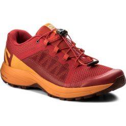 Buty SALOMON - Xa Elevate 401324 27 V0 Barbados Cherry/Bright Marigold/Syrah. Czerwone buty sportowe męskie Salomon, z materiału. W wyprzedaży za 349.00 zł.