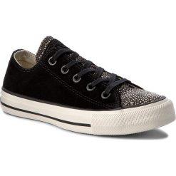 Tenisówki CONVERSE - Ctas Ox 157666C Black/Black/Egret. Trampki męskie Converse, z gumy. W wyprzedaży za 259.00 zł.