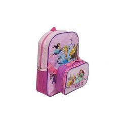 Roszpunka Disney Princess Księżniczki Plecak Plecaczek + Lunch Box. Fioletowe torby i plecaki dziecięce Świat Bajek. Za 45.01 zł.