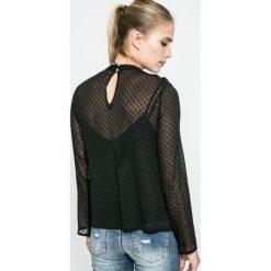 Answear - Bluzka Blossom Mood. Szare bluzki damskie ANSWEAR, z materiału, casualowe, ze stójką. W wyprzedaży za 49.90 zł.