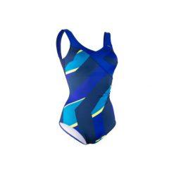 Strój jednoczęściowy do aquafitness KARLI FIC damski. Niebieskie kostiumy jednoczęściowe damskie NABAIJI. W wyprzedaży za 79.99 zł.