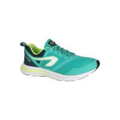 Buty do biegania RUN ONE ACTIVE damskie. Niebieskie obuwie sportowe damskie KALENJI, z gumy. Za 99.99 zł.