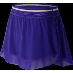 New Balance WK61406SSL. Niebieskie spódnice damskie New Balance, na jesień, z materiału, klasyczne. W wyprzedaży za 99.99 zł.