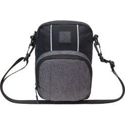 Saszetka na ramię AKB611 - ciemny szary melanż - Outhorn. Szare saszetki męskie Outhorn, z materiału. W wyprzedaży za 29.99 zł.