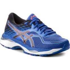 Buty ASICS - Gel-Cumulus 19 T7B8N  Blue Purple/Black/Flash Coral 4890. Niebieskie obuwie sportowe damskie Asics, z materiału. W wyprzedaży za 289.00 zł.