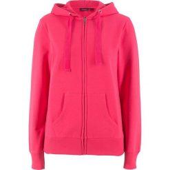 Bluza rozpinana bonprix różowy hibiskus. Czerwone bluzy damskie bonprix, w paski. Za 59.99 zł.
