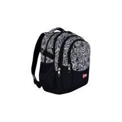 Plecak młodzieżowy St.Right Zebra. Czarna torby i plecaki dziecięce St-Majewski, z materiału. Za 126.00 zł.