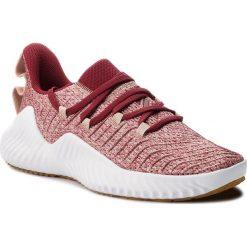 Buty adidas - Alphabounce Trainer W B75782 Ashpea/Nobmar/Rawdes. Brązowe obuwie sportowe damskie Adidas, z materiału. W wyprzedaży za 279.00 zł.