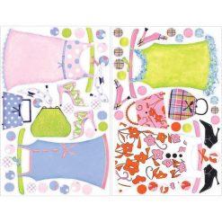 Sukienki Młodej Damy  - naklejki wielokrotnego użytku (RMK1389SLG). Sukienki niemowlęce marki Reserved. Za 194.99 zł.