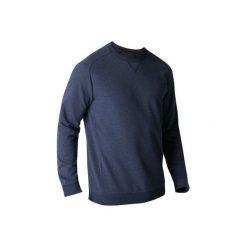Bluza Gym & Pilates 500 męska. Niebieskie bluzy męskie DOMYOS. Za 39.99 zł.