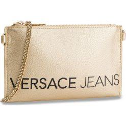 Torebka VERSACE JEANS - E3VSBPBB 70709 901. Żółte torebki do ręki damskie Versace Jeans, z jeansu. W wyprzedaży za 259.00 zł.