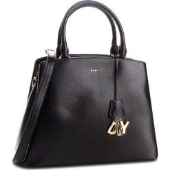 Torebka DKNY - Paige Lg Satchel R81D3326  Blk/Gold. Czarne torebki do ręki damskie DKNY, ze skóry. Za 1,399.00 zł.