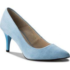 Szpilki SERGIO BARDI - Brenzone SS127348018TP  213. Niebieskie szpilki damskie Sergio Bardi, ze skóry. W wyprzedaży za 149.00 zł.