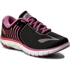 Buty BROOKS - PureFlow 6 120237 1B 056 Black/Rose Violet/Bittersweet. Czarne obuwie sportowe damskie Brooks, z materiału. W wyprzedaży za 289.00 zł.