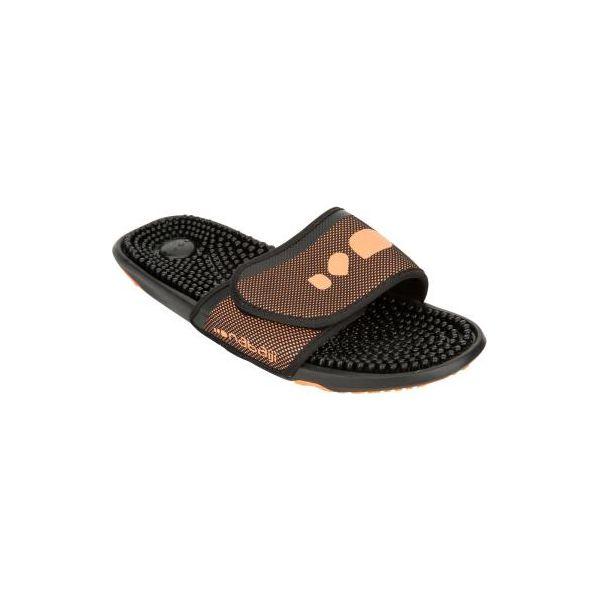 158cf7010825ed Klapki basenowe SLAP 900 męskie - Czarne klapki męskie NABAIJI, z ...