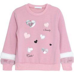 Różowa Bluza Your Hope. Bluzy dla dziewczynek marki bonprix. Za 59.99 zł.