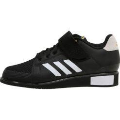 Adidas Performance POWER PERFECT III Obuwie treningowe black/white/gold. Buty sportowe męskie adidas Performance, z materiału. Za 499.00 zł.