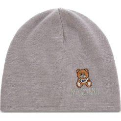 Czapka MOSCHINO - 65032M1867 014. Szare czapki i kapelusze męskie MOSCHINO, z materiału. Za 389.00 zł.
